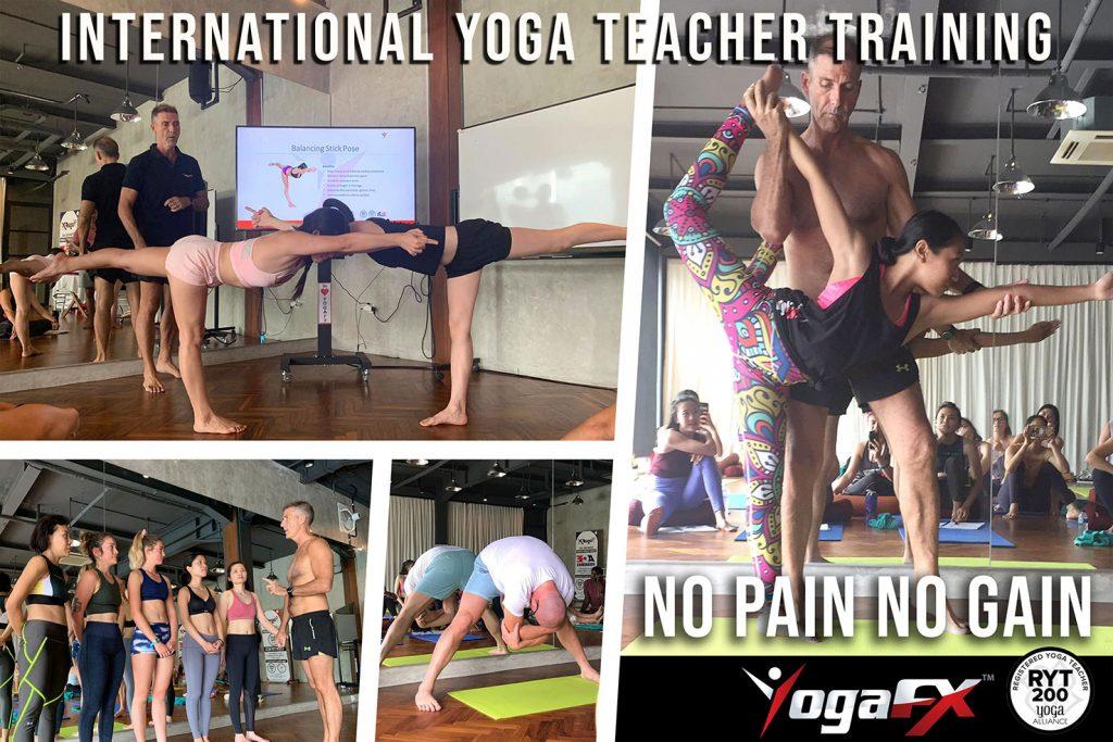 yoga teacher training international event