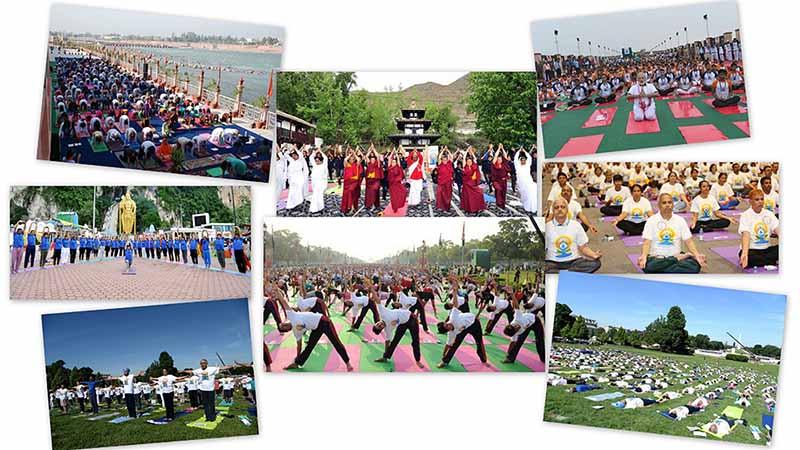 International Yoga Day Bali