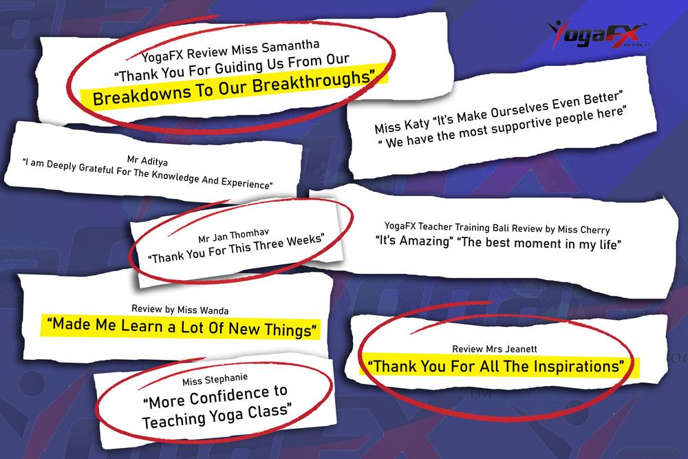 Yoga Teacher Training Reviews